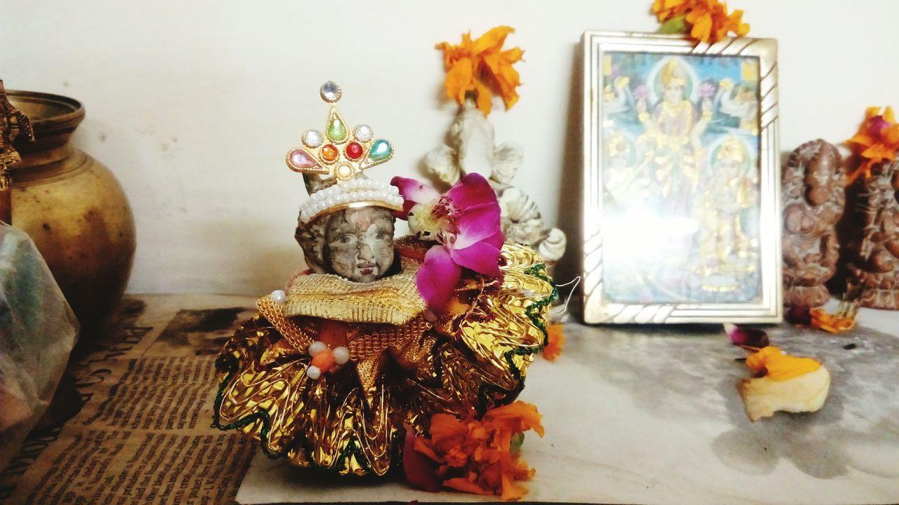 Krishna Janmashtami India Delhi Hindu Celebration