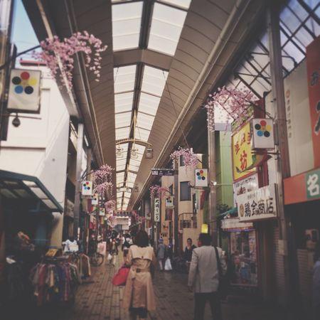 Nagoya-shi Osu Kannon Temple Japan Photography Osu Shopping Arcade