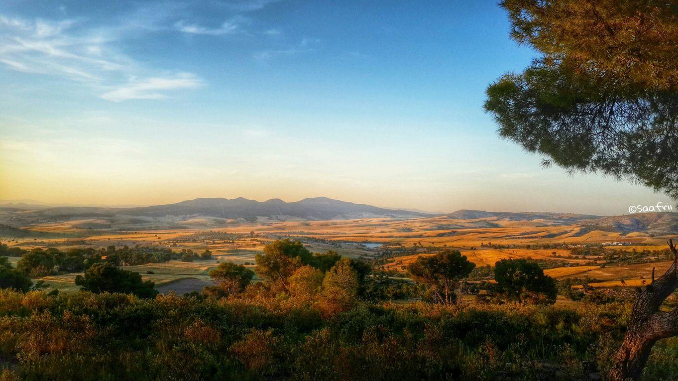 Hello World Hanging Out Landscape Nature ElAroussa Siliana Tunisia