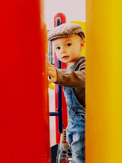 Planes, trains, trucks and toys~there is nothing quite like little boys. Childhood EyeEmNewHere Boys Playing Adventure Growth One Boy Only