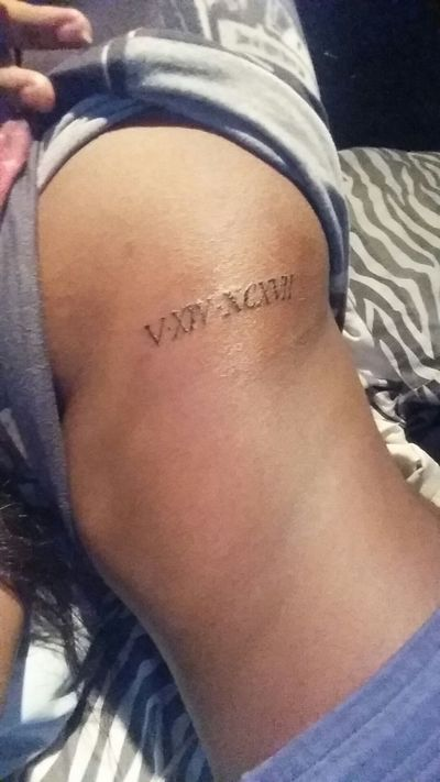 Wassup First Tattoo Want More
