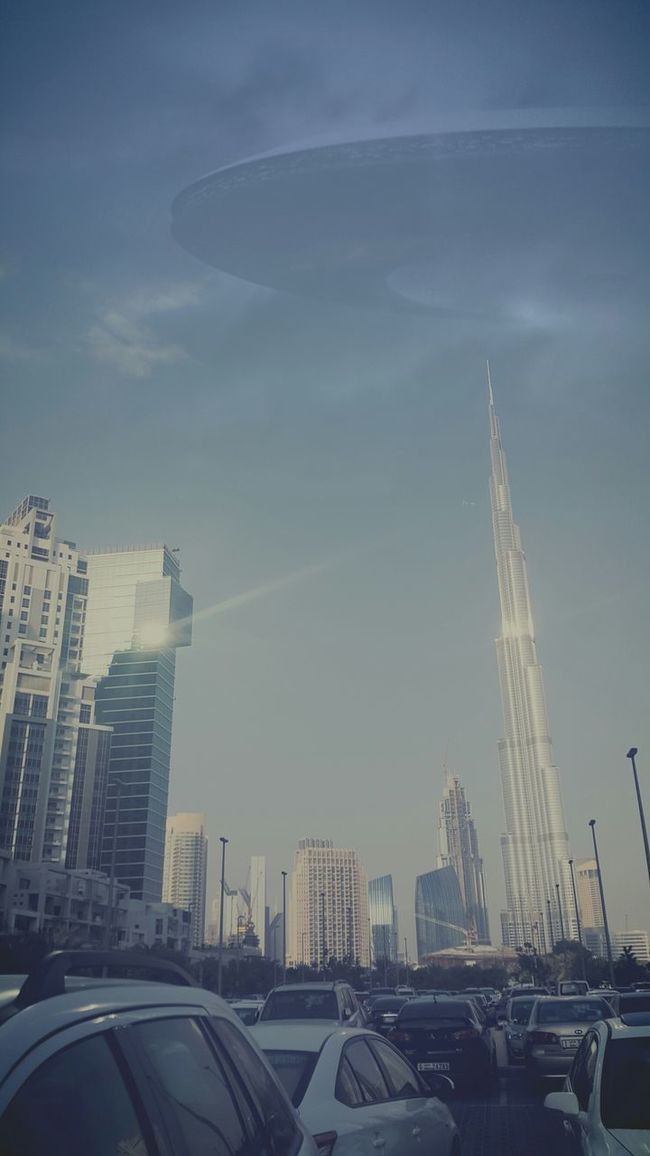 Tallest Building Sunny Day Business Bay Taking Photos Check This Out Faizal Hi! Penguin ♡