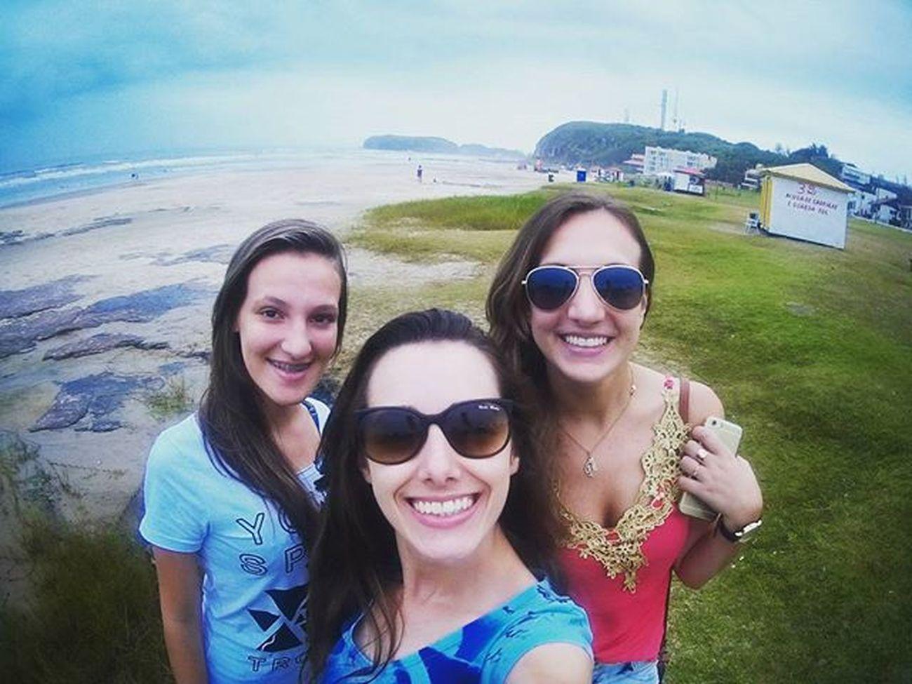 Bom dia, mar! 😃✌🌊🌊 Praia Torres Riograndedosul Friends Férias Ig_beach_brasil Turismonosul Doleitorzh Igers FotoBrasil Camerasport Navcity Ng100