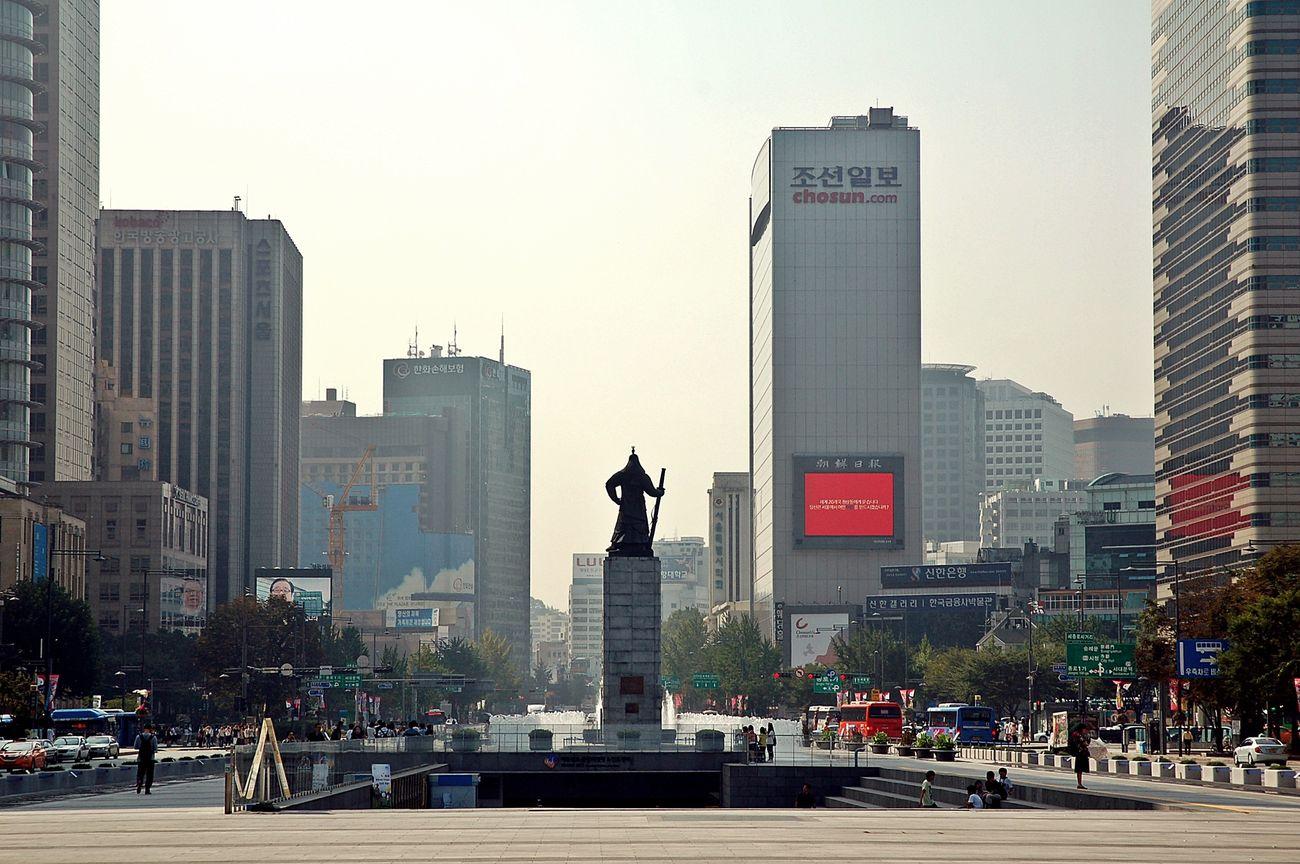 Gwanghwamun Square Hello World Hi! Taking Photos Nikon D50 Urbanphotography Urban