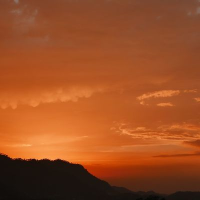 burning skies Mountains Red Sky Sunset Evening EyeEm EyeEm Nature Lover EyeEm Best Shots OpenEdit Leica D-lux Typ109 Nature On Your Doorstep at home in Himachal, India