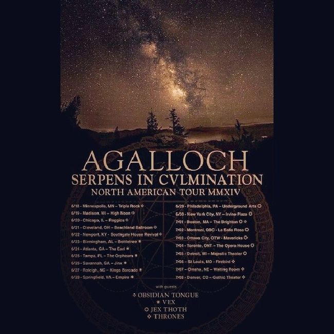 @byronicscott I'm so excited to do kickoff this tour with you! Are you ready? Technically it's tomorrow =) Agalloch Northamericantour Kickoff Homtown portland oregon