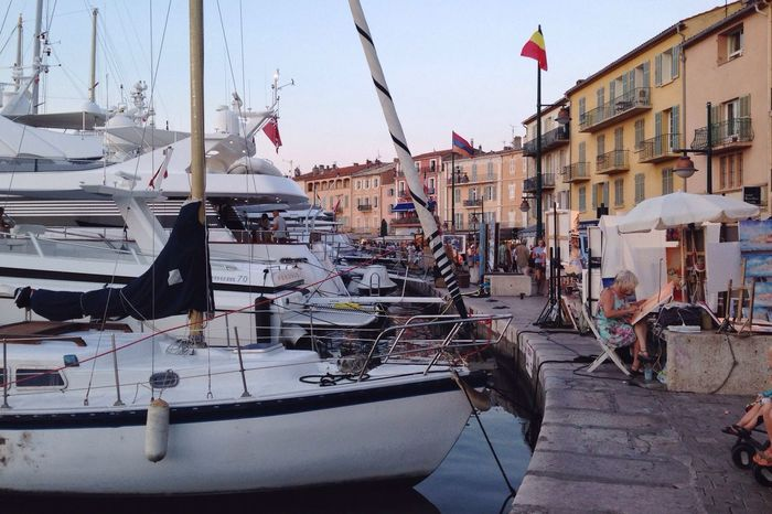 Port City Life In France Relaxing