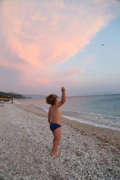 Capturing Freedom Sunset Children Beach Seashore Sea Playing Canon5dmarkiii