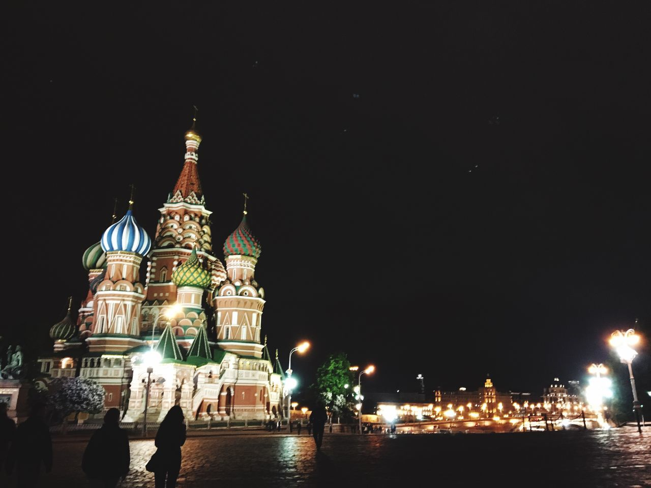St. Basil's Cathedral St. Basil's Cathedral In Moscow Redsquare Cities At Night Moscow, Москва Nightphotography Night Lights