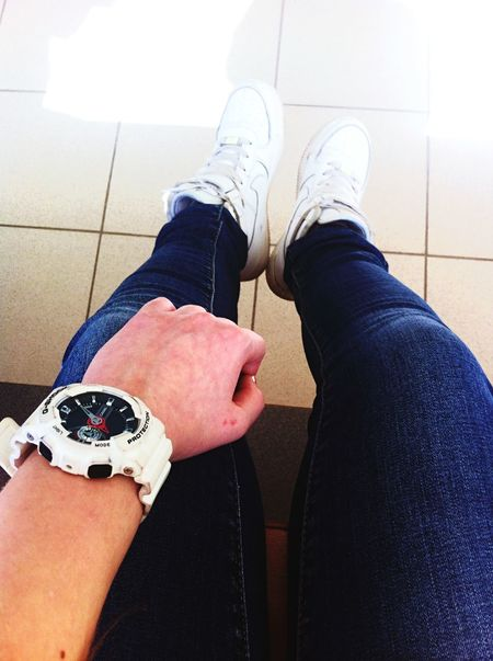 👌👍👟💎 At School Wasting Time Nike Air Force 1 G-shock