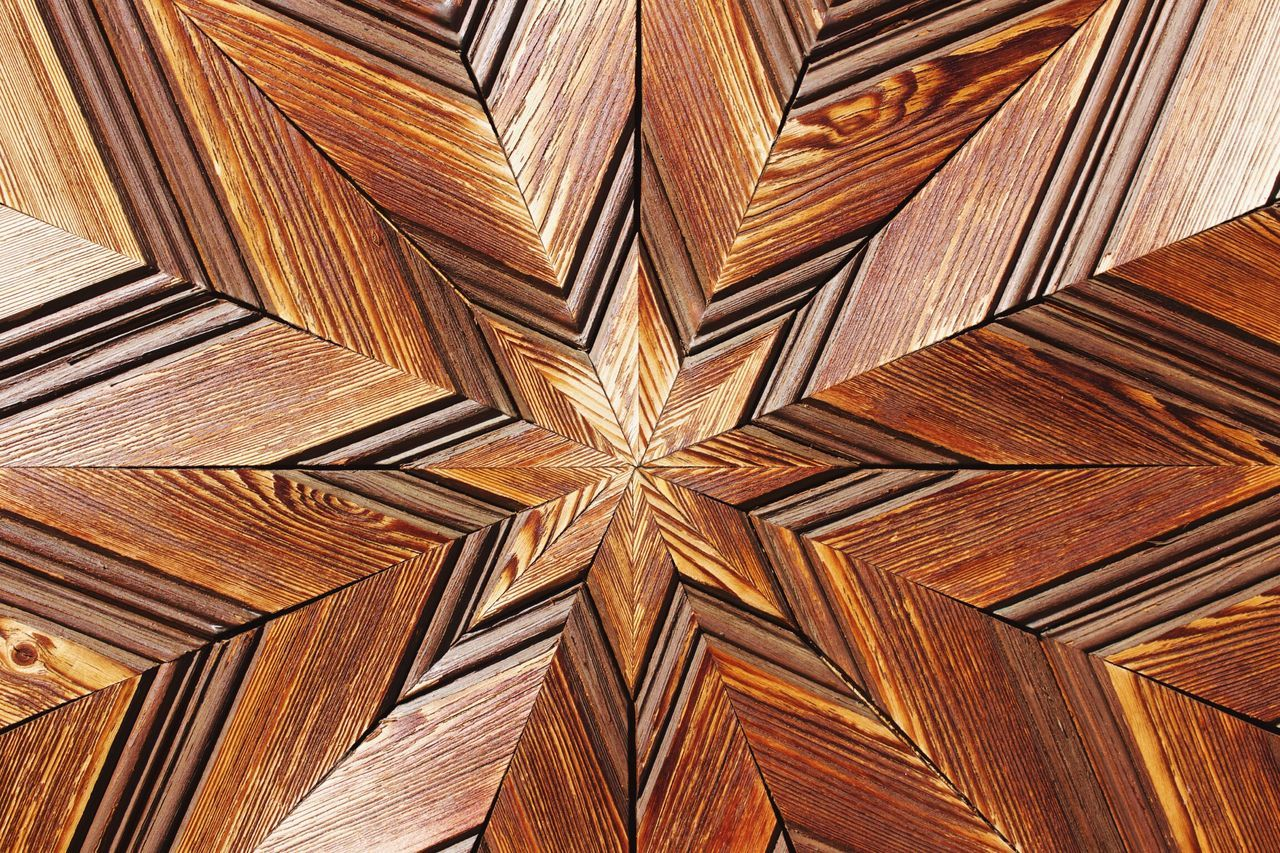 Pattern Full Frame Backgrounds Wood - Material No People Close-up Indoors  Day Textures And Surfaces Wallpaper Wood Brown Pattern, Texture, Shape And Form Background Star Wooden Texture Brennkopf Walchsee