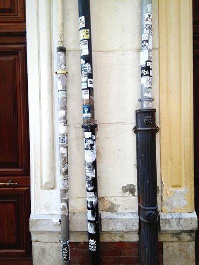 Málaga Spain ❤ Street Art Streetphotography Building Exterior Door Puerto Day
