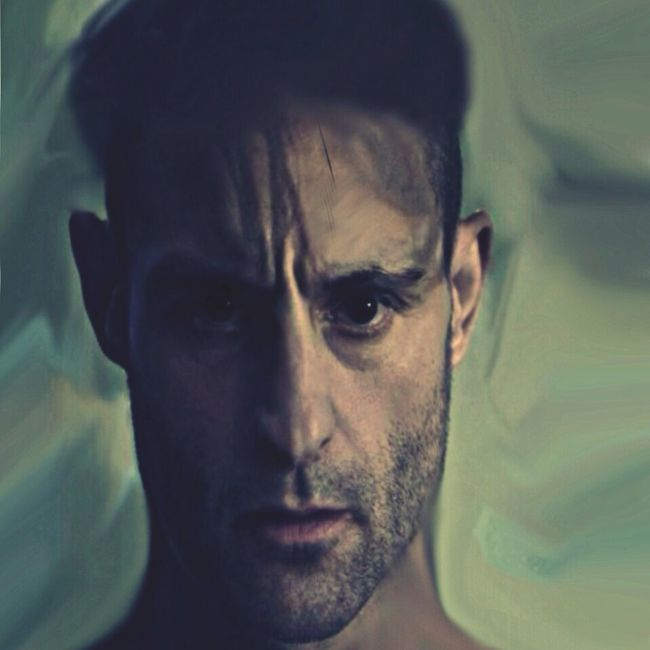 I No Longer... Altered Perceptions Color Portrait Digital Art