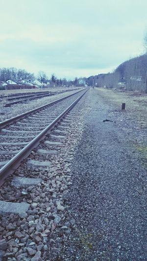 Railroad Train Station Train Tracks