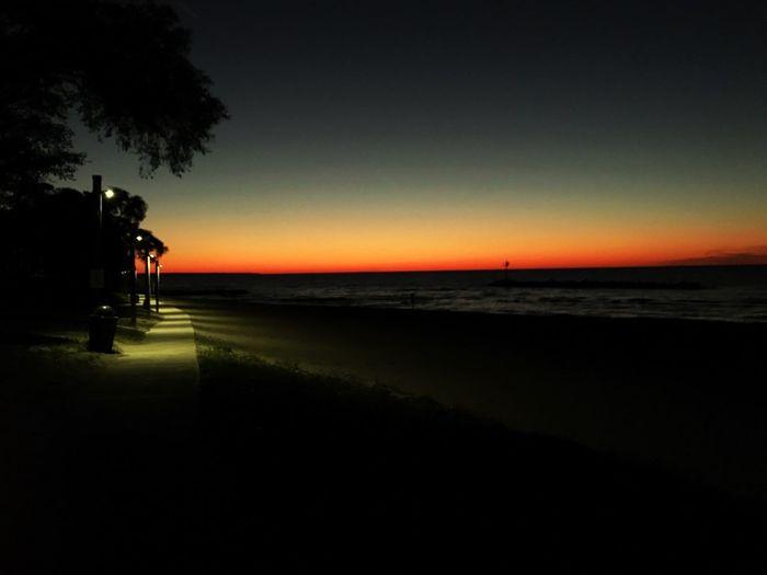 Sunset Beach Sky Water