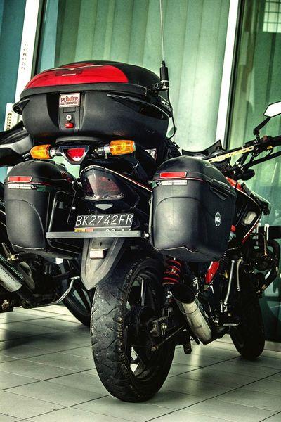 My Hobby Motorcycle Honda Hondatiger2000 MTB Touring Givi Kappa Box Medantigerbrother Photo