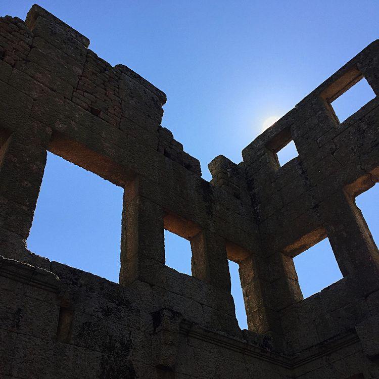 Inside Centum Cellas Tower Patrimoniohistorico Belmonte Umpoucodaimensahistoriadonossopais Roman Ruins Romanas Ruinas Passeiohistorico Historical Monuments Monumentos  History