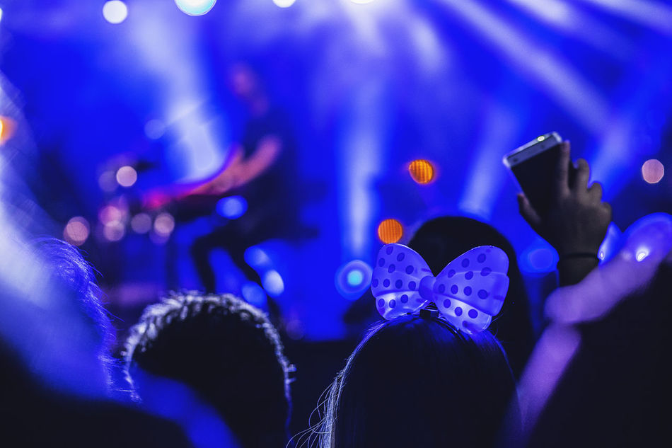 Beautiful stock photos of party,  Arts Culture And Entertainment,  Audience,  Blue,  Carefree