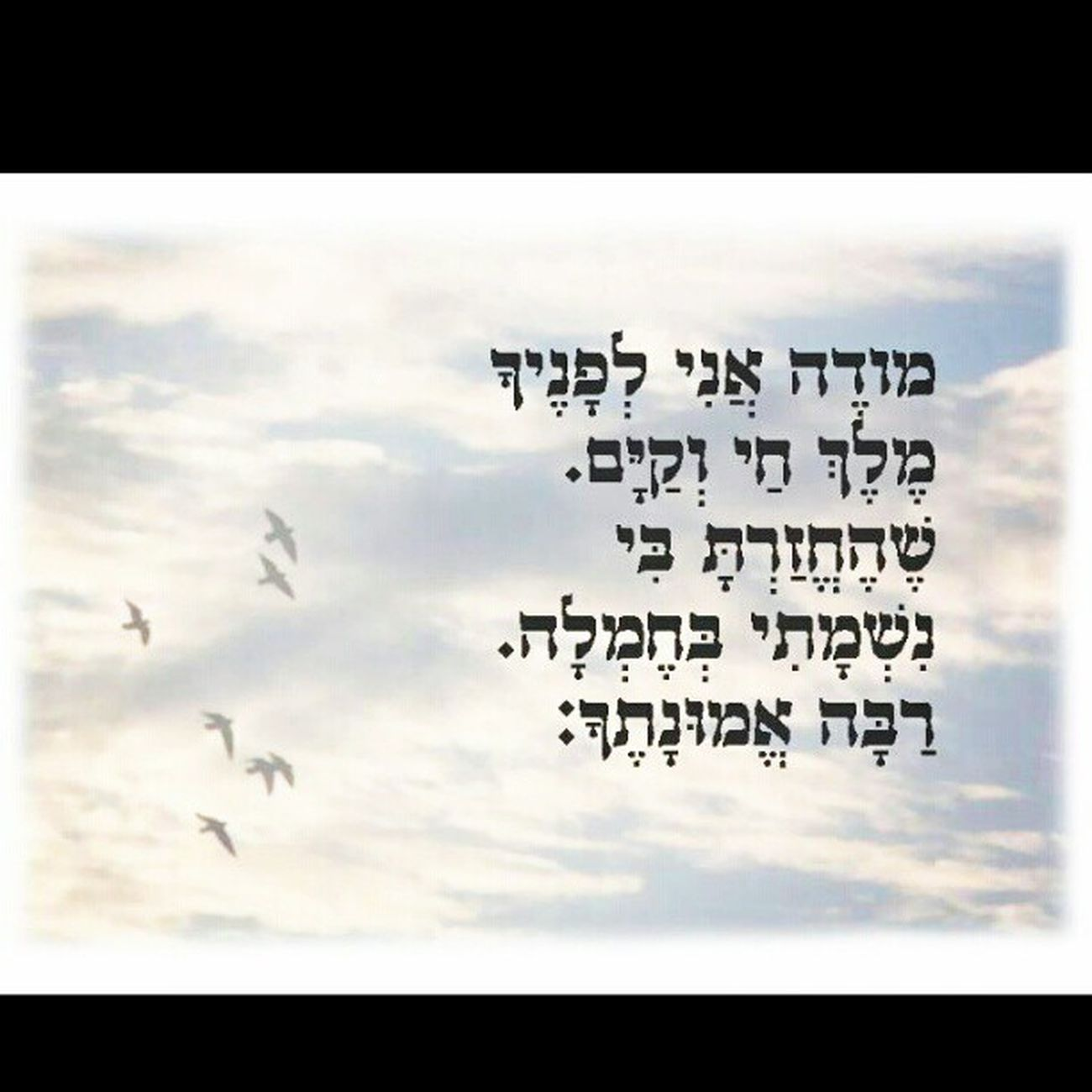 Israel Judaism Bible Tehilim GoodMorning