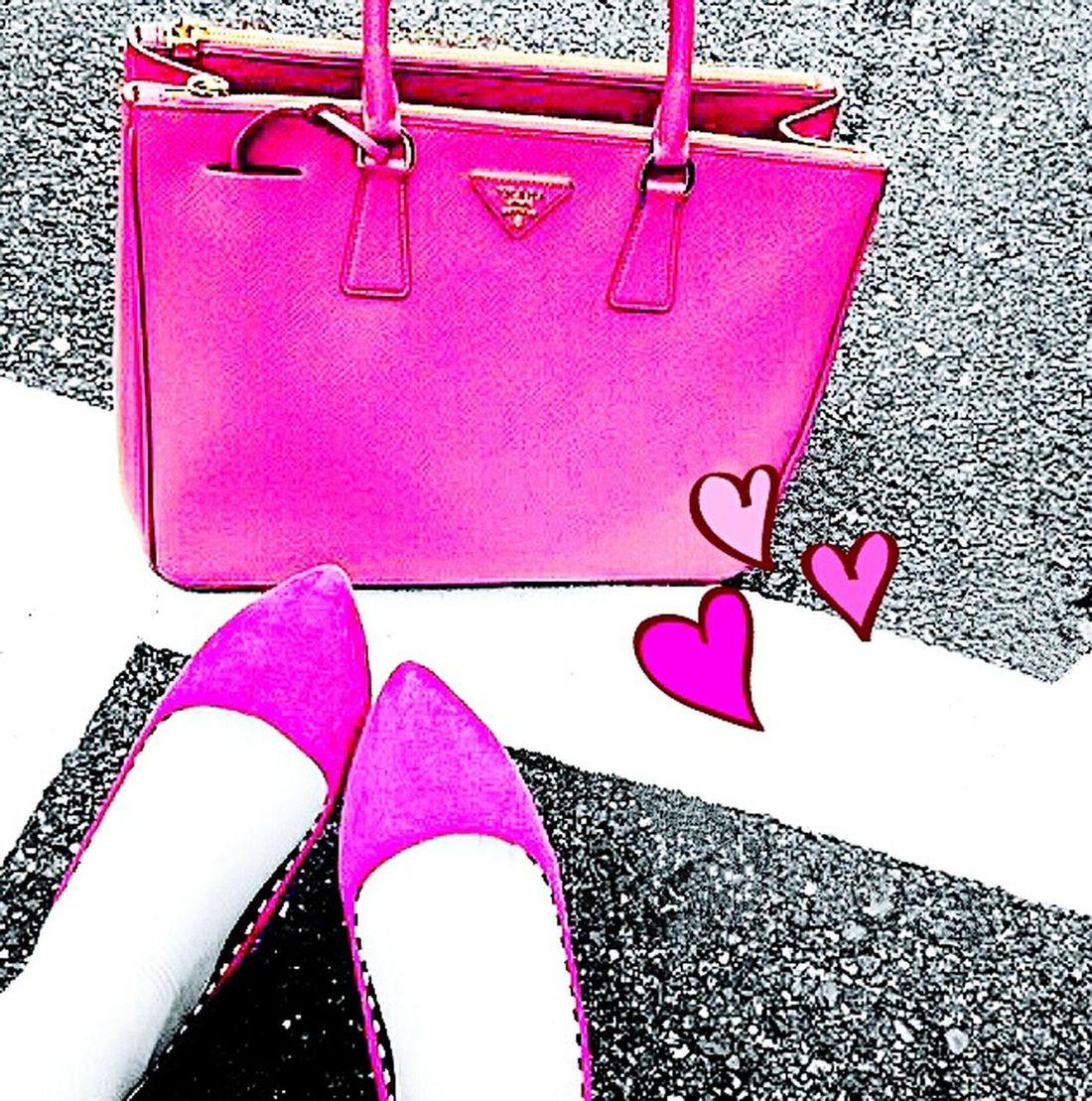Pink♥ I ♥ Prada Today's Coordinate That's Me