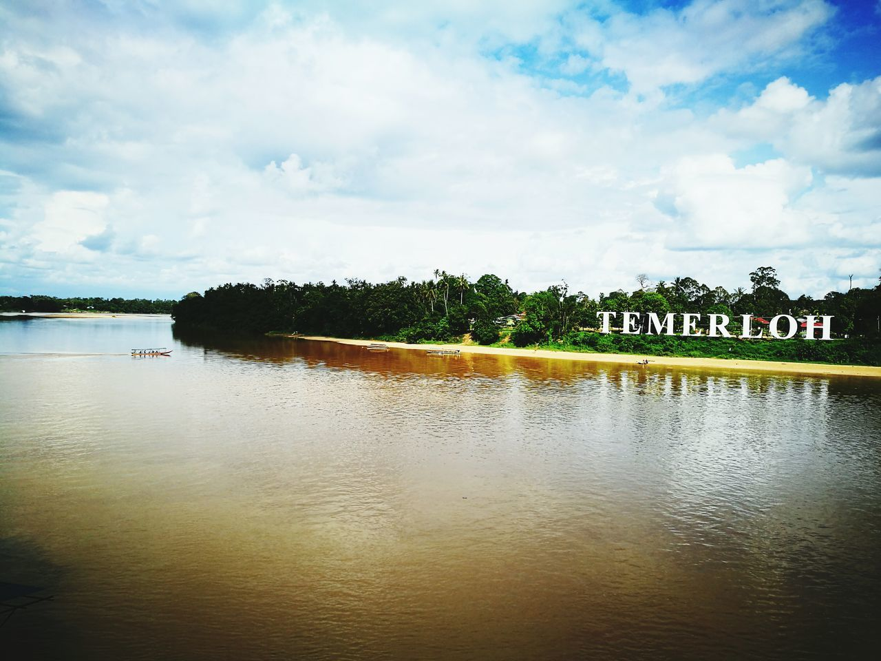 Pahang River, Temerloh Water Water Transportation Riverside Riverbank River Riverside Photography Day Sunny Day Outdoors Cloud - Sky Pahang, Malaysia Temerloh Huawei P9 Leica HuaweiP9