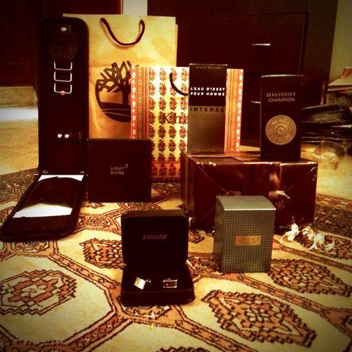 Birthday Gifts Montblanc GUCCI Davidoff Isseymiyake Timberland Khaadi Hubleather Leatherbag Cufflinks 25 /6/2015