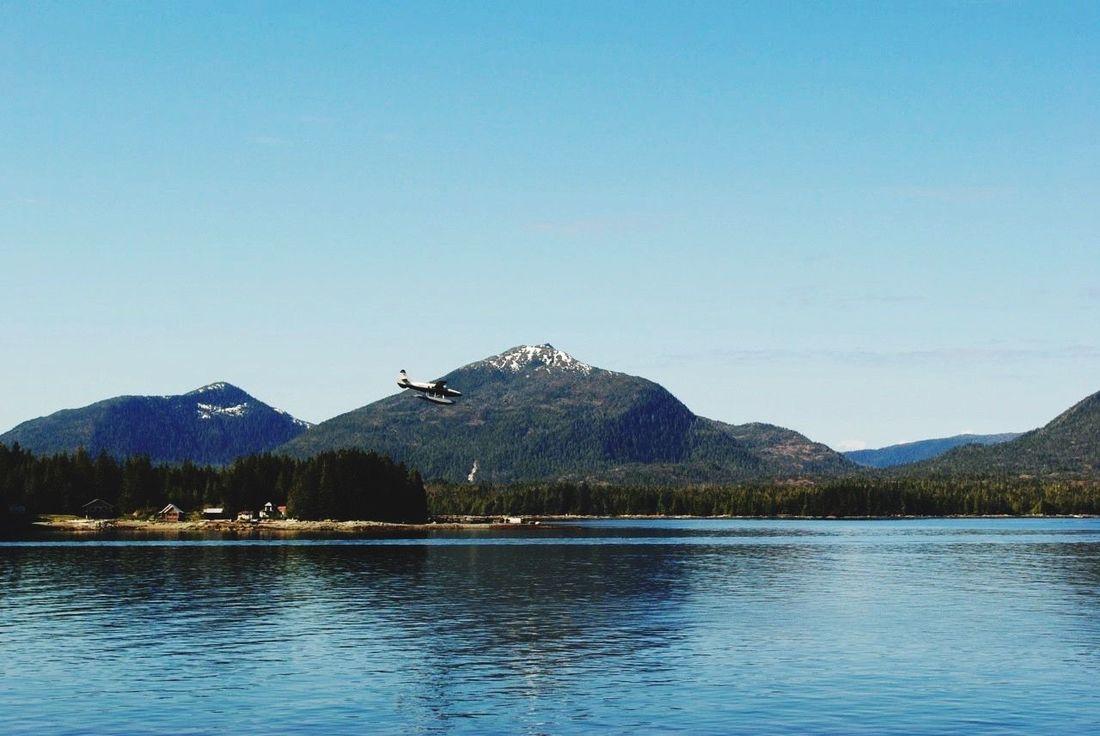 Alaska Waterplane Landing Juneau