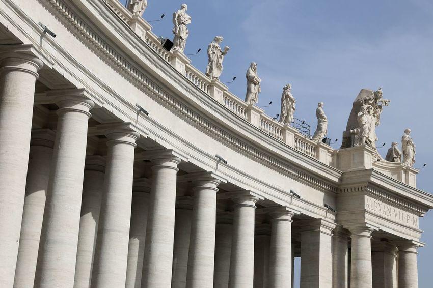 Vatican City Museum Italy Travel Destinations Minimalist Architecture Rome Religion