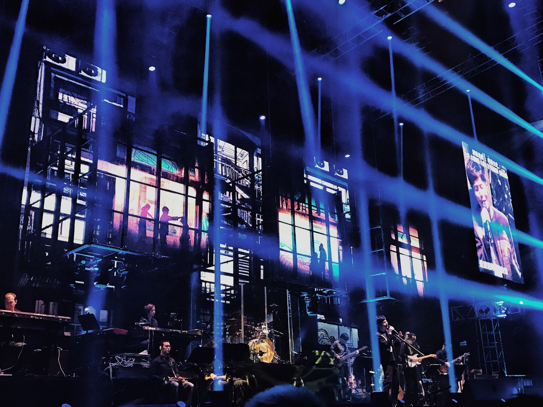 Music Night Men Built Structure Lifestyles Real People Large Group Of People City Indoors  Occupation Architecture People Hong Kong Coliseum Nightlife Performance Illuminated