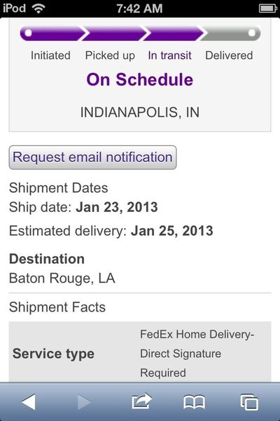 My new phone almost here!!!