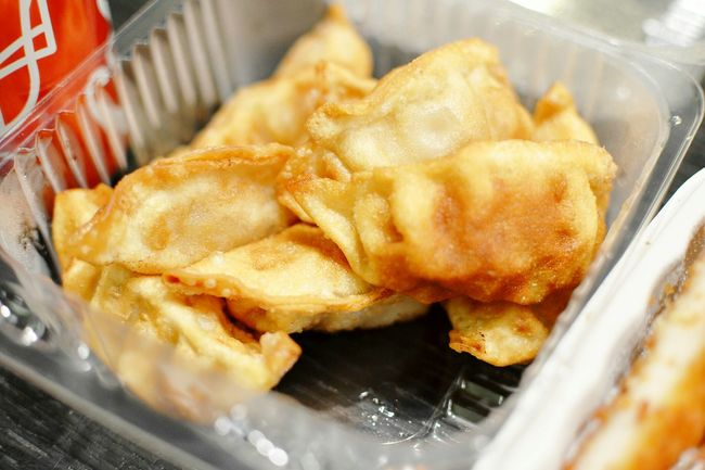 Gyoza. // Photography EyeEmbestshots Traveling Food Japanese Food Yum Close-up Delicious Friedfood Foodphotography Asianfood Takeout Show Us Your Takeaway!