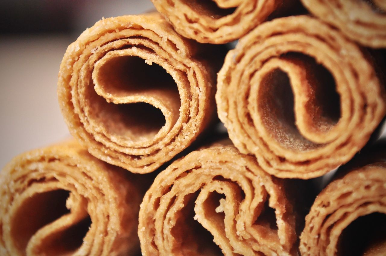 Baked Baked Cookies Baked Goods Biscuits Christmas Close-up Cookies Crispy Delicious Food Food And Drink Freshness Golden Indoors  Ready-to-eat Rolled Rolled Up Scrumptious Sweet Treat Treats Wafer Wafers Wafersticks EyeEm Best Shots