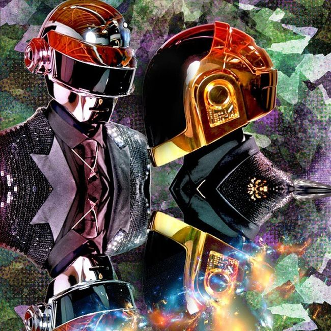 Favourite ever Daftpunk  Redesign Photoshop Arry design