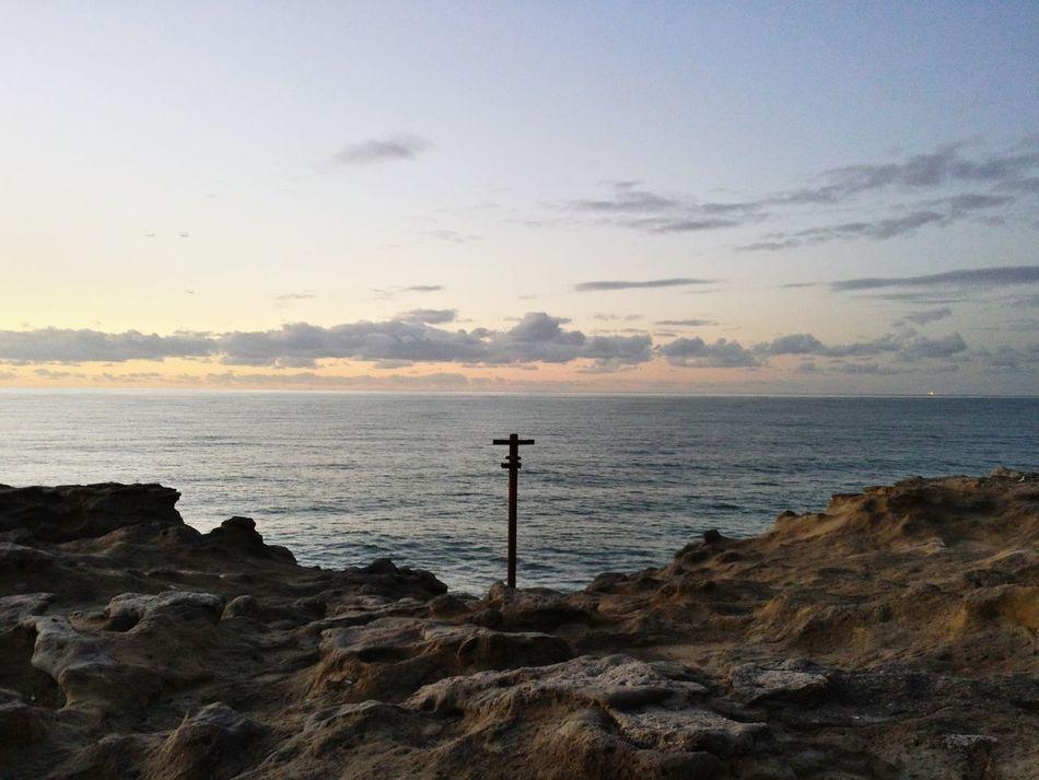 Saint Jean De Luz Saint Jean De Luz, France Pays Basque BasqueCountry Landscape Sea Ocean View Cross