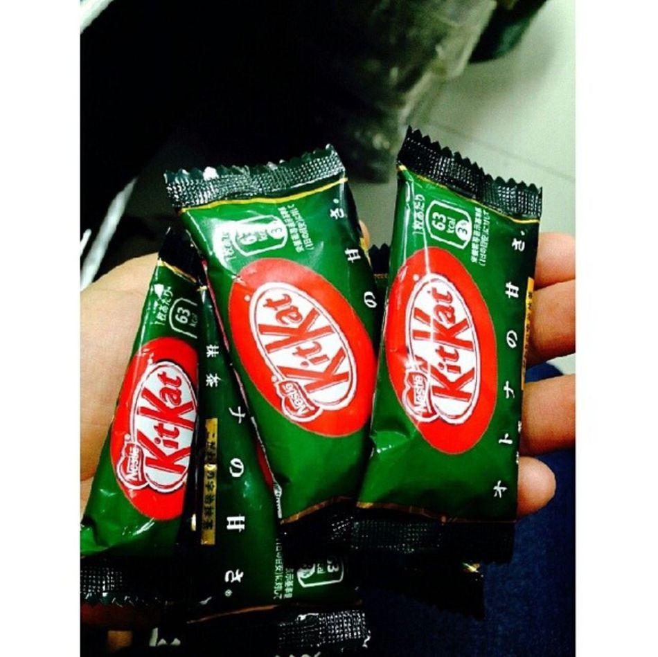 KitKat Matcha Green Tea. ??? Taking Photos Relaxing Enjoying Life Greenteakitkat