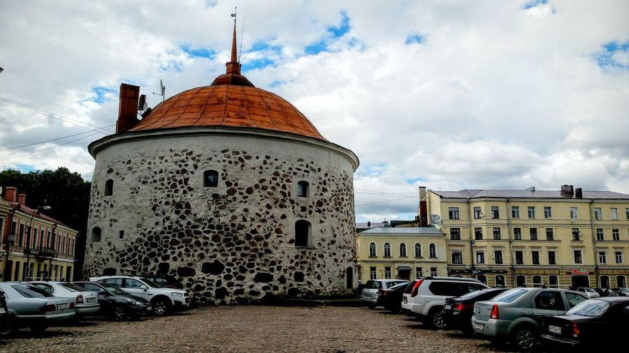 Viborg Wiipuri выборг круглая башня Round Tower