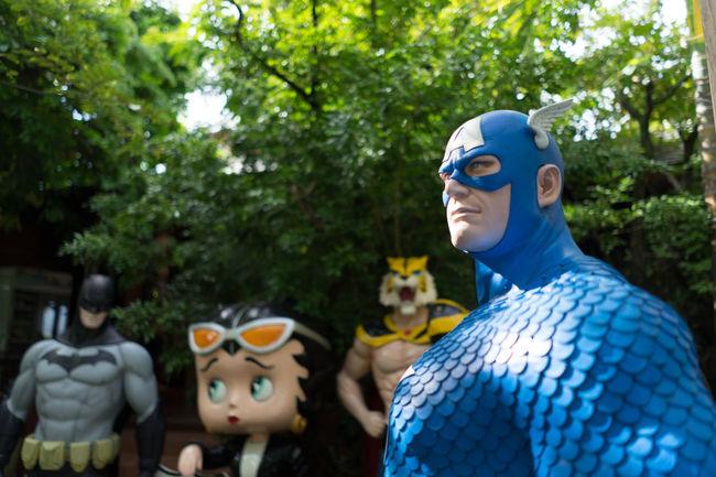 Showcase July Captain America Statue Super Hero Team Superhero Kids Moviestar