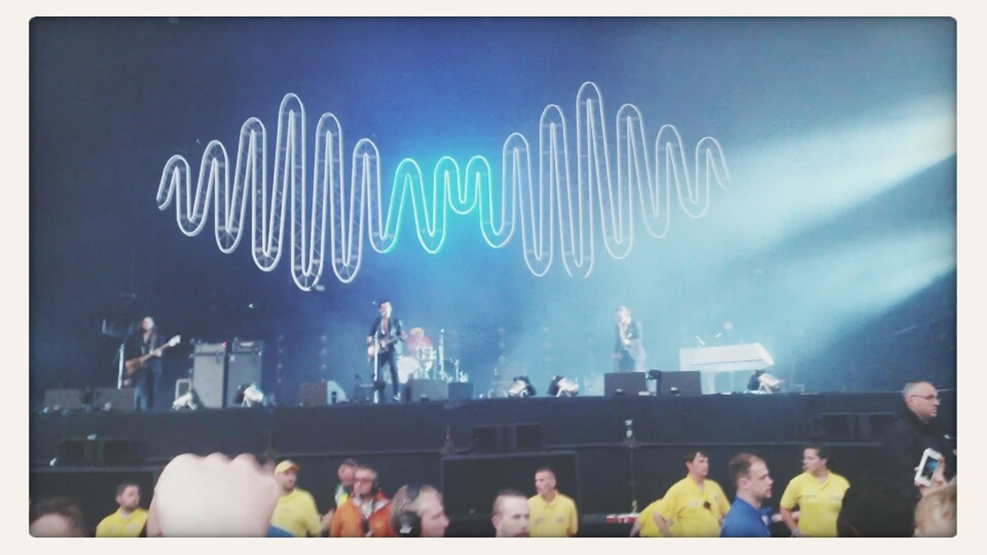 I saw the arctic monkeys, what did you do? Arctic Monkeys Alex Turner AMtour
