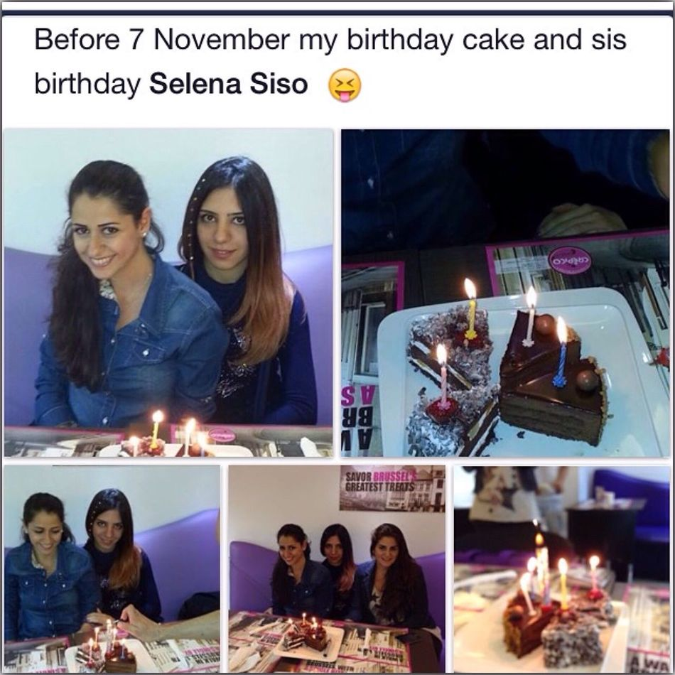 Before 7 November My B-day Cake 2 B-day Cake On 7 November -friday