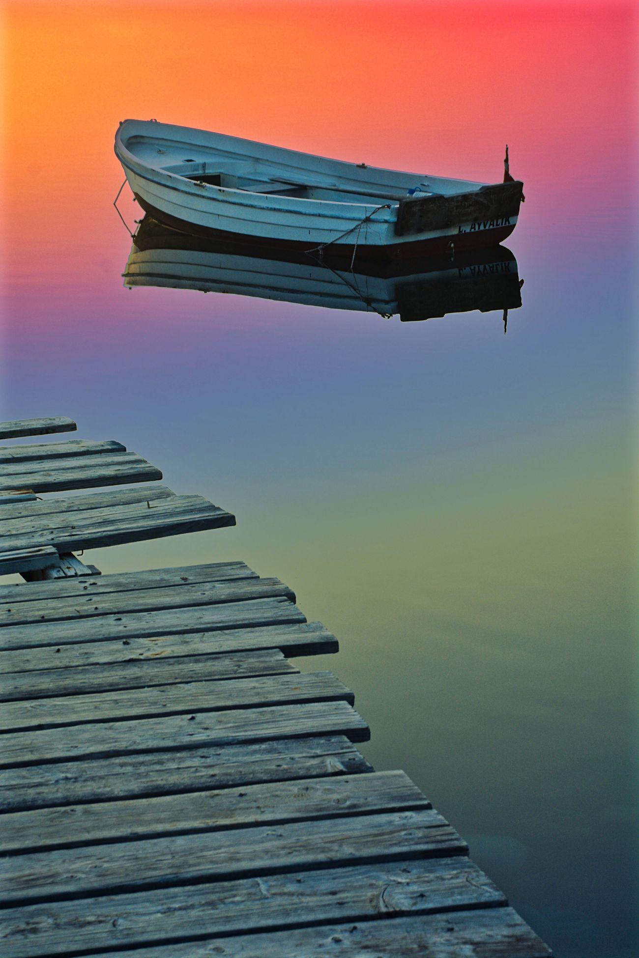 Phosphorescence Phosphorescence In The Sea. Boats Boat Pier Summer Summertime First Eyeem Photo EyeEm