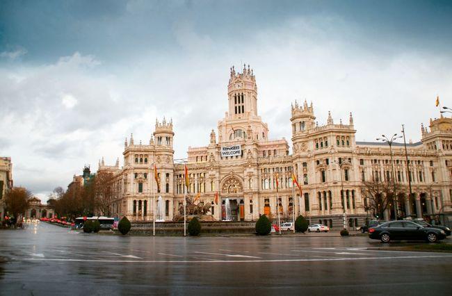 Cibeles Palace, Madrid (Spain) Madrid SPAIN España Palace Palacio Cibeles Taking Photos Relaxing Streetphotography Palacio De Cibeles CibelesPalace