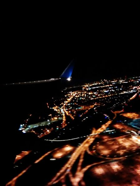 Love flying at night Night Photography Night Night Lights Flying High Night Flight can't sleep Hello World Love Photography Earth From Above