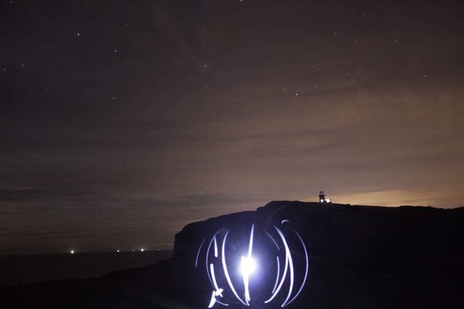 My Favorite Place Beachy Head The View Sky Stars At Night