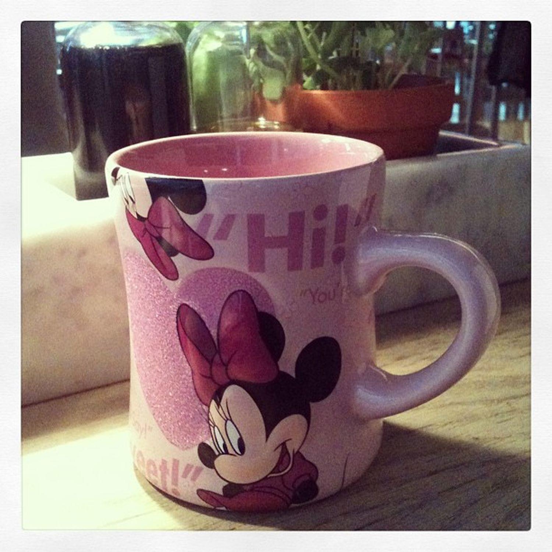 HappyGift Dinner Minnie Mouse disneylandpink<3tkankyou ^_^