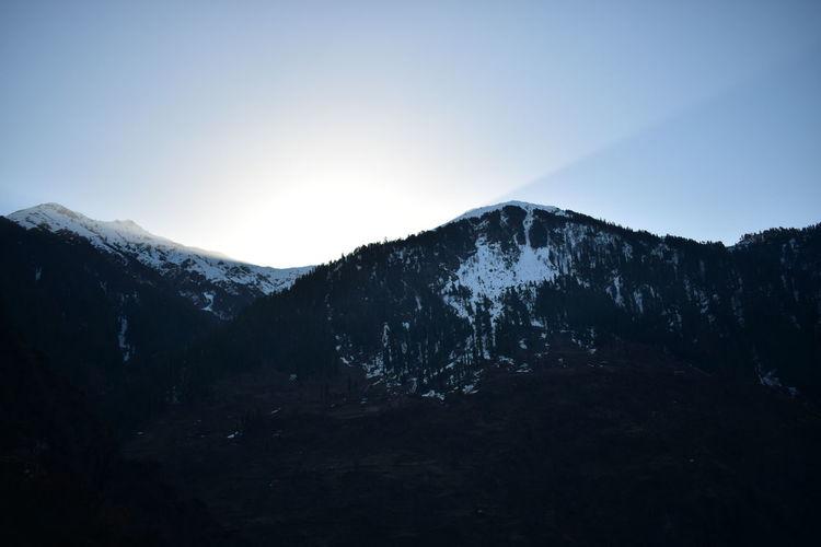 Before sunrise in Malana, Himachal Pradesh. Landscape Mountain SnowMountain Range Scenics No People Nature Sunrise MALANA VILLAGE Malana India Indiapictures Sunset Cloud - Sky Sky Outdoors Tree Beauty In Nature Day First Eyeem Photo