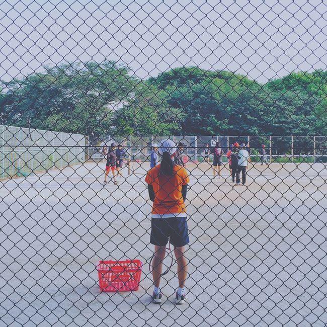 Back Tenniscourt Enjoying Life Sport Hanging Out Snapshots Of Life My Favorite Photo Eyem Best Shots IPhoneography