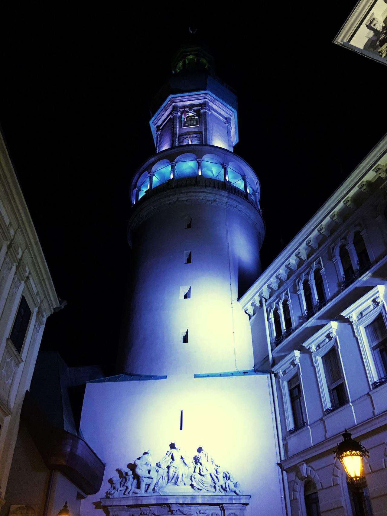 Sopron Tüztorony Az este fényei First Eyeem Photo