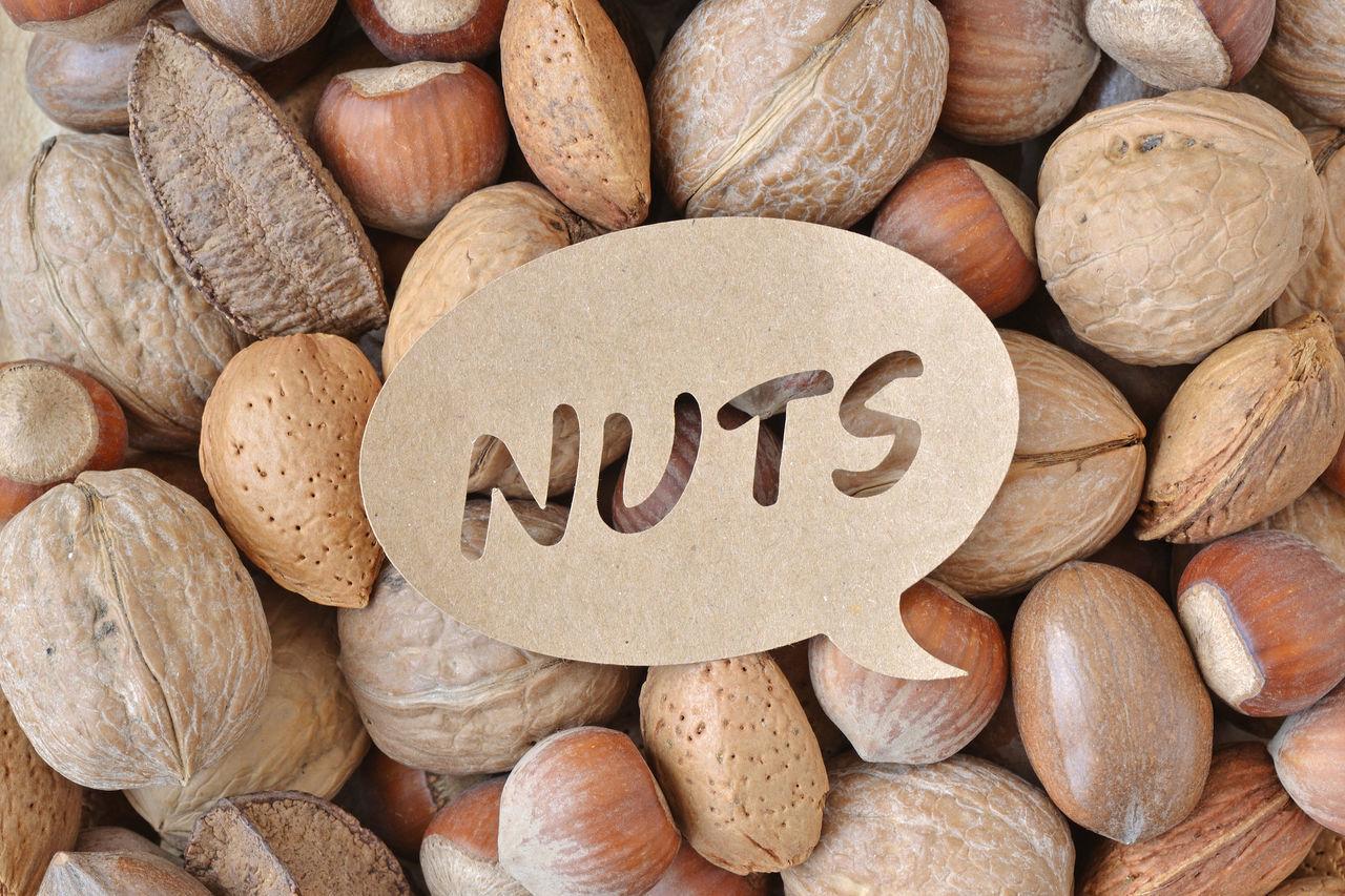 Mix of nuts: walnut, hazelnut, almond, brazil nut and pecan Almond Antioxidant Brazil Nut Brown Close-up Diabetes Diet Dried Fruit Eating Fiber Food Fruit Hazelnut Health Healthy Macro Natural Nature Nut Nutrition Pecan Shell Tasty Walnut Written