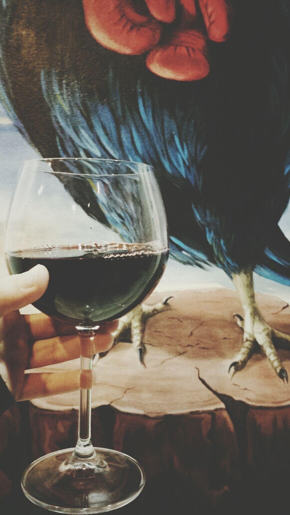 Wine Relax Painting Liliana Folta