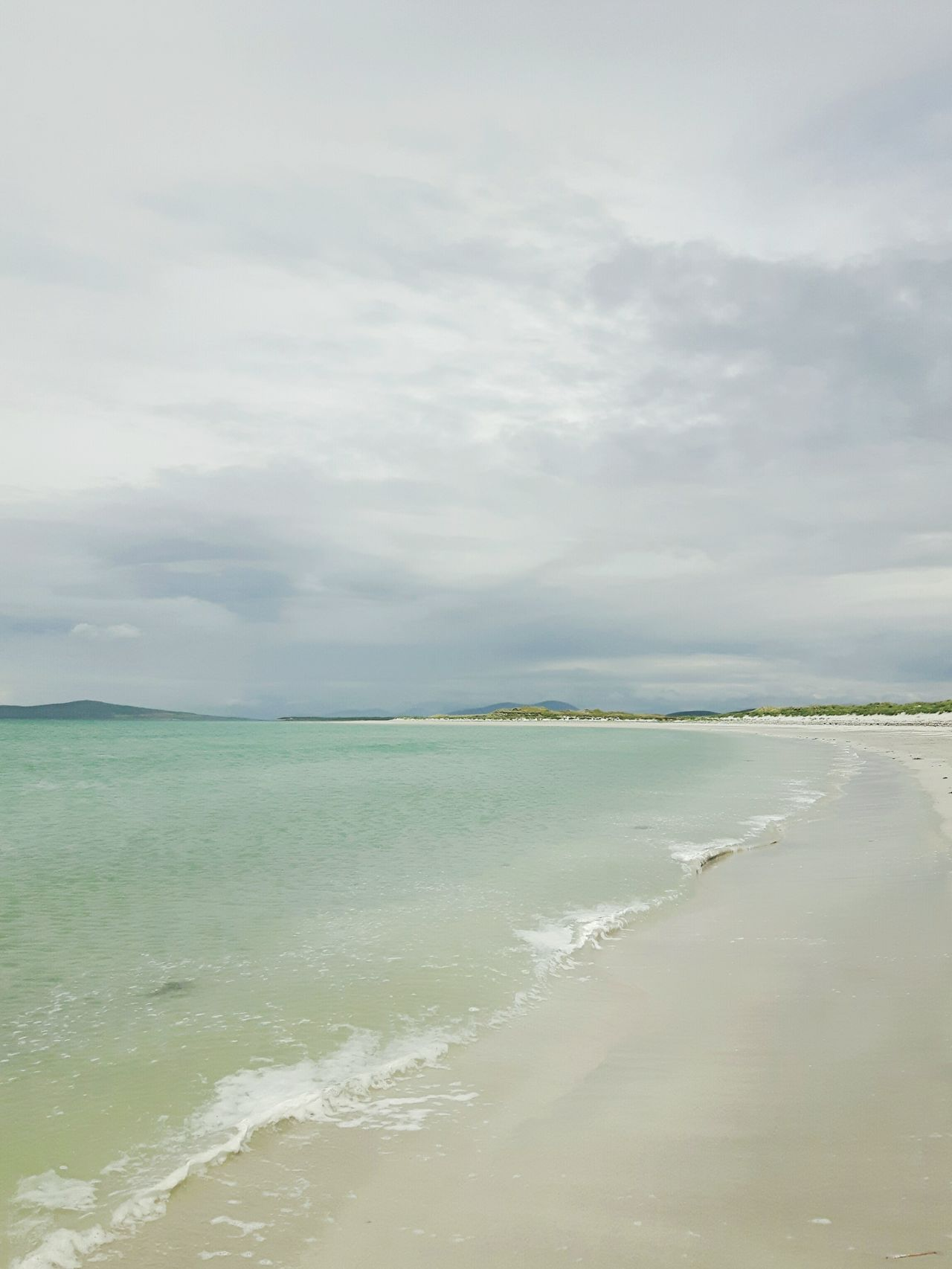 Beach Sea Scottish Isles Travel Destinations Live For The Story Hebridies The Great Outdoors - 2017 EyeEm Awards EyeEmNewHere Scotland Scotlandlover Scotlandsbeauty Outerhebrides Westernisles Scottishbeach Clachan Clachansands Traigh Lingeigh Uist Beauty In Nature Tranquility Tide